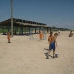 Джанкой в объективе Джанкойские футболисты учатся нырять. getImage 18