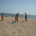 Джанкой в объективе Джанкойские футболисты учатся нырять. getImage 20
