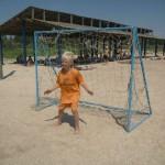 Джанкой в объективе Джанкойские футболисты учатся нырять. getImage 22
