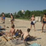 Джанкой в объективе Джанкойские футболисты учатся нырять. getImage 27