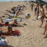 Джанкой в объективе Джанкойские футболисты учатся нырять. getImage 35