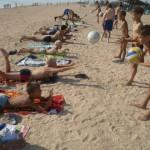 Джанкой в объективе Джанкойские футболисты учатся нырять. getImage 36
