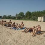 Джанкой в объективе Джанкойские футболисты учатся нырять. getImage 39