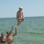 Джанкойцы учатся нырять