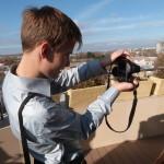 Отдыхают сотрудники Яндекса на крыше