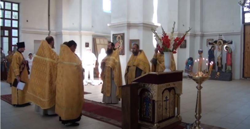 kreshhenie rusi. v dzhankoe - В Джанкое молебном отметили Крещение Руси