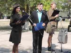 концерт для срочников в Джанкое