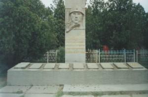 Братская могила на старом кладбище
