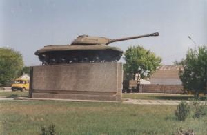 Танк-символ освобожденного Джанкоя
