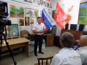 DSCN0592 300x225 - Джанкойцы приняли участие в презентации новой книги о Марии Октябрьской