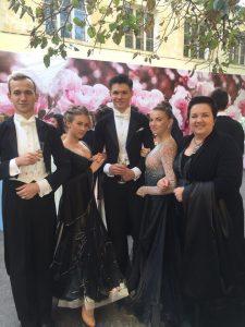 Джанкойцы на балу Айвазовского