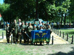 Джанкой в объективе Будущие десантники отметили День ВДВ Dzhankojtsy. D.VDV
