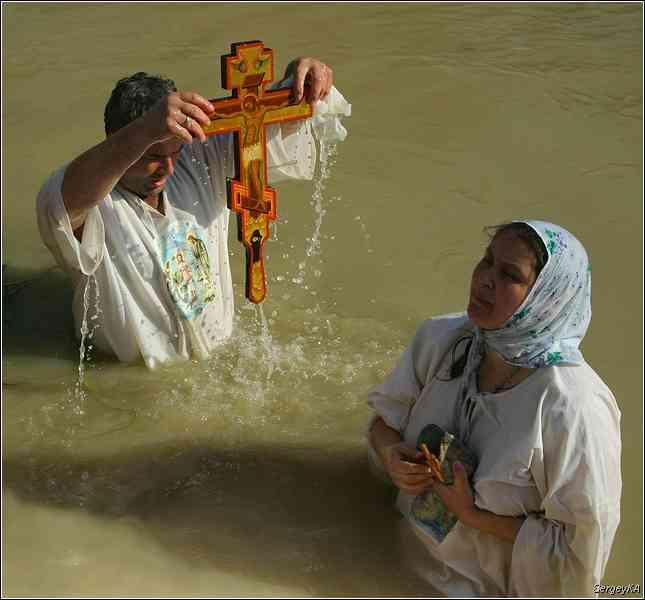 крещенские купания. Иордан