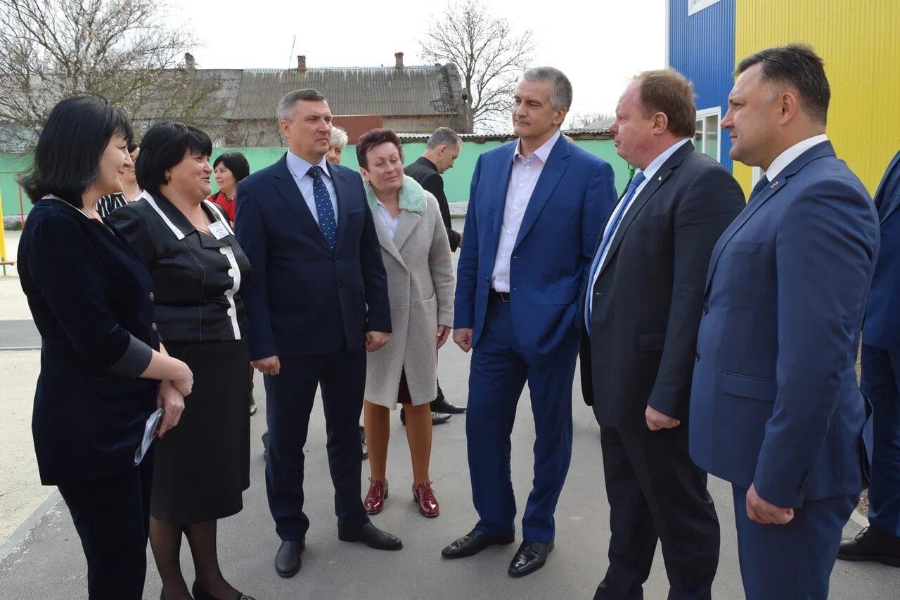 2 - В Джанкое открыт новый модульный детский сад
