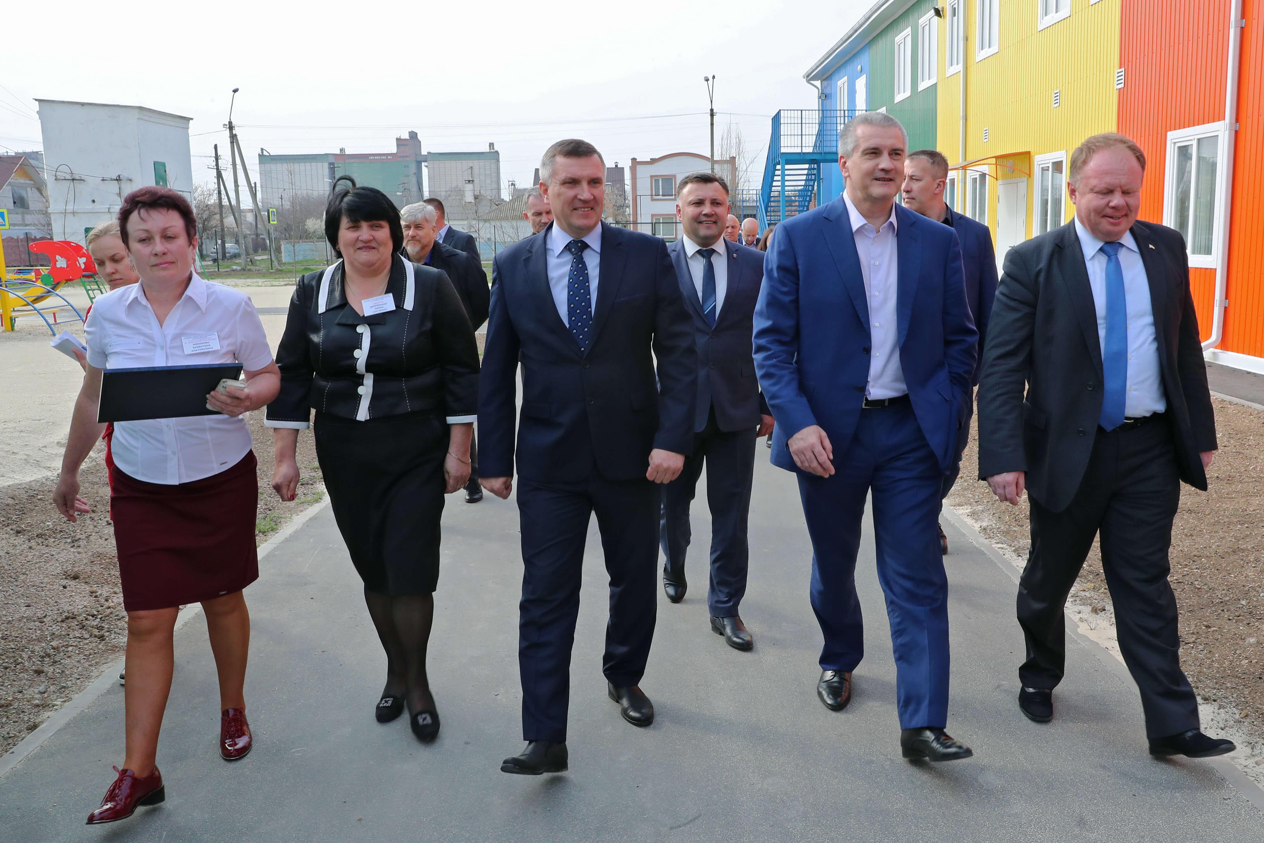 3 - В Джанкое открыт новый модульный детский сад