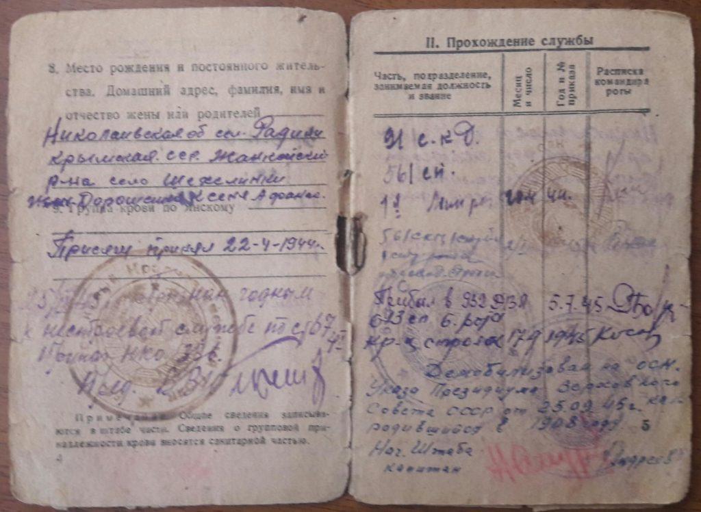 knigapamjatidzhankojcev vasilij doroshenko 1 1024x748 - #КнигаПамятиДжанкойцев: Василий Дорошенко