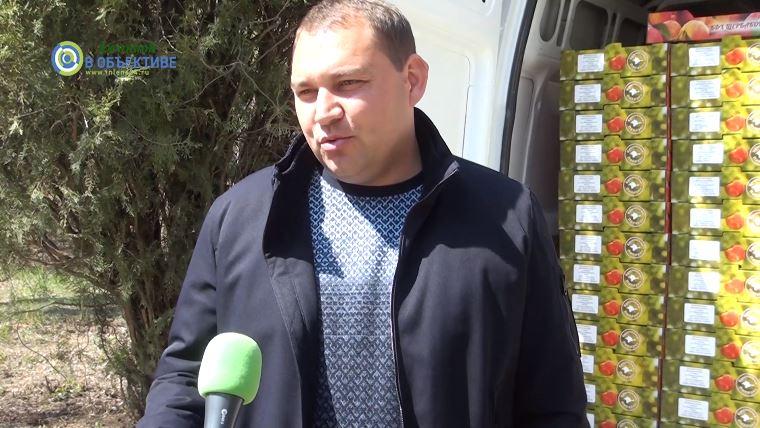medikam dzhankoya evgeniy shherbakov - Медикам Джанкоя - яблоки и теплые слова