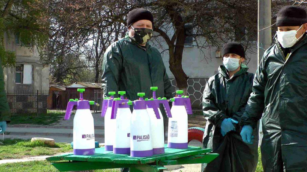 ЖКХ Джанкоя против коронавируса