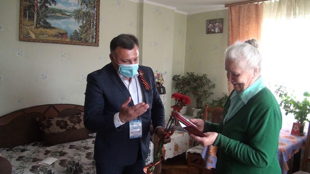 """pozdrav veterana v novyh uslovijah. dzhankoj 1024x576 - Акция """"Поздравь ветерана"""" 2020 состоялась"""
