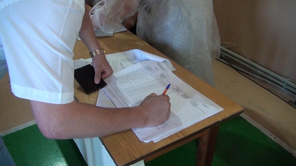 Голосование по поправкам. Конституция 2020