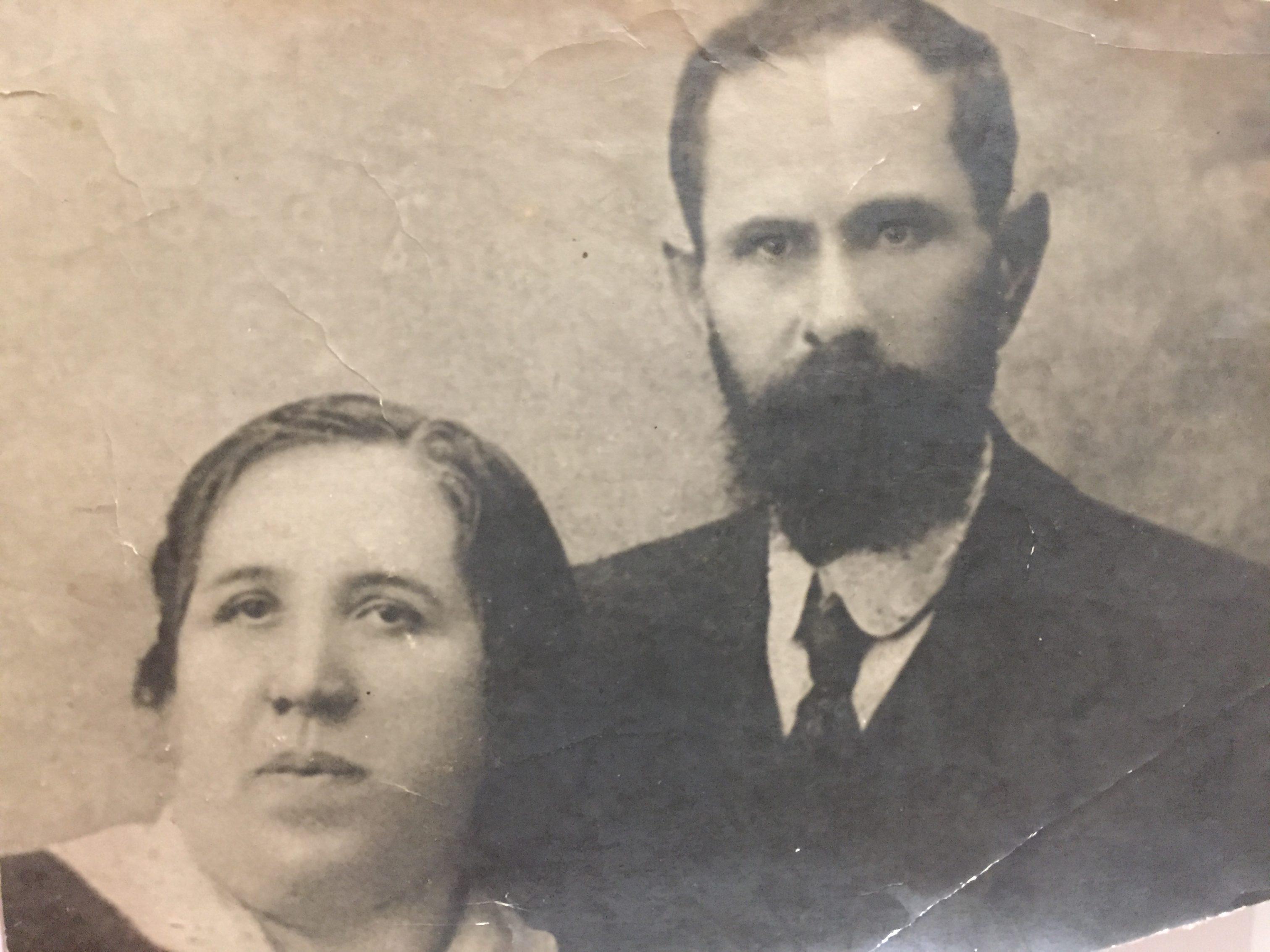 История Джанкоя. Берта Шуберт с мужем