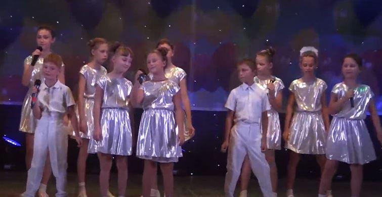 детский концерт. джанкой. день горда