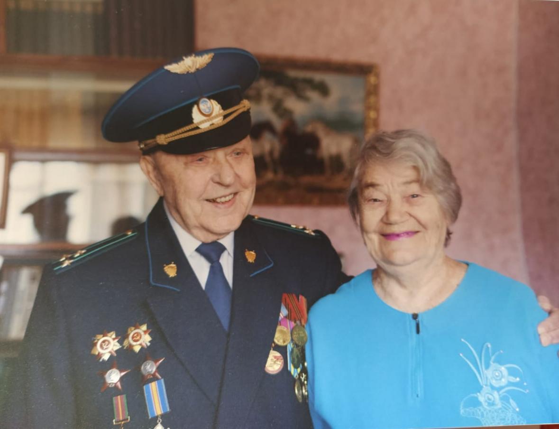 Юрий Шабанов с супругой Александрой Никитичной