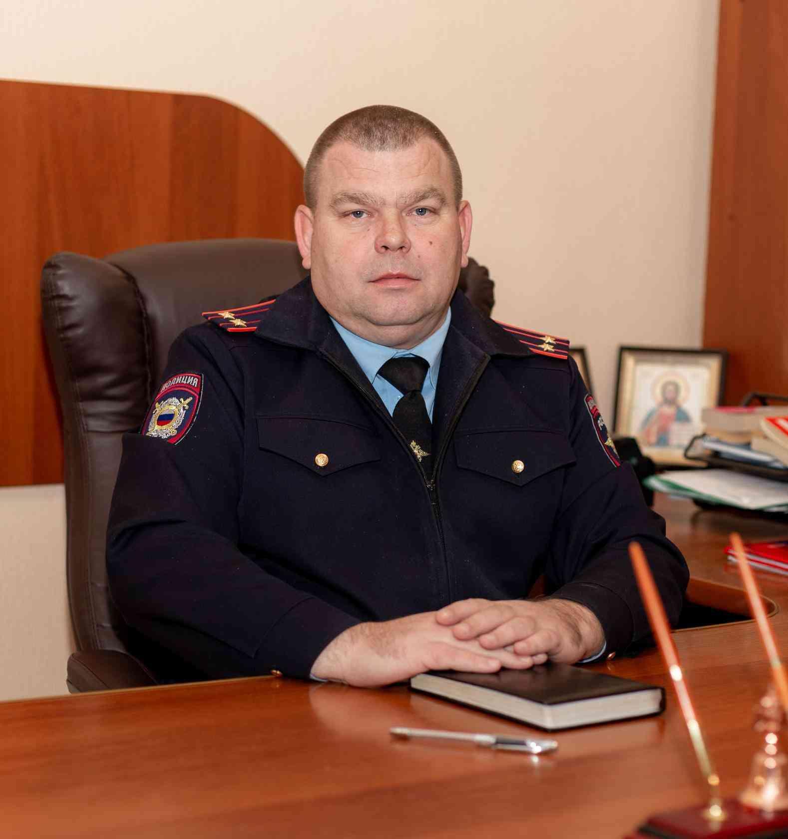 Начальник полиции в Джанкое. Александр Степаненко