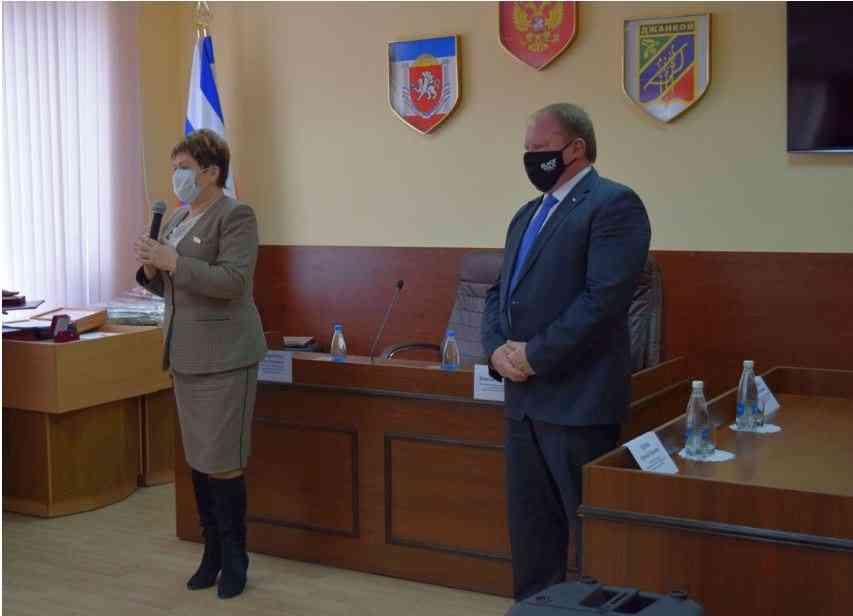 Медики Джанкоя. Поздравление Аллы Пономаренко