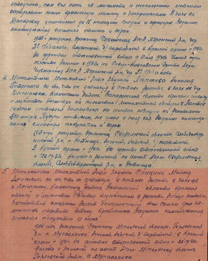 как Матвей Спицин погиб в Джанкое