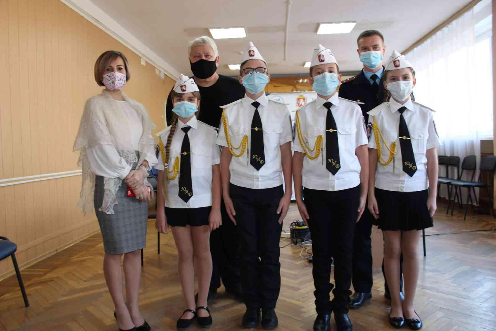команда юид из Джанкоя - победитель конкурса Безопасное колесо 2020