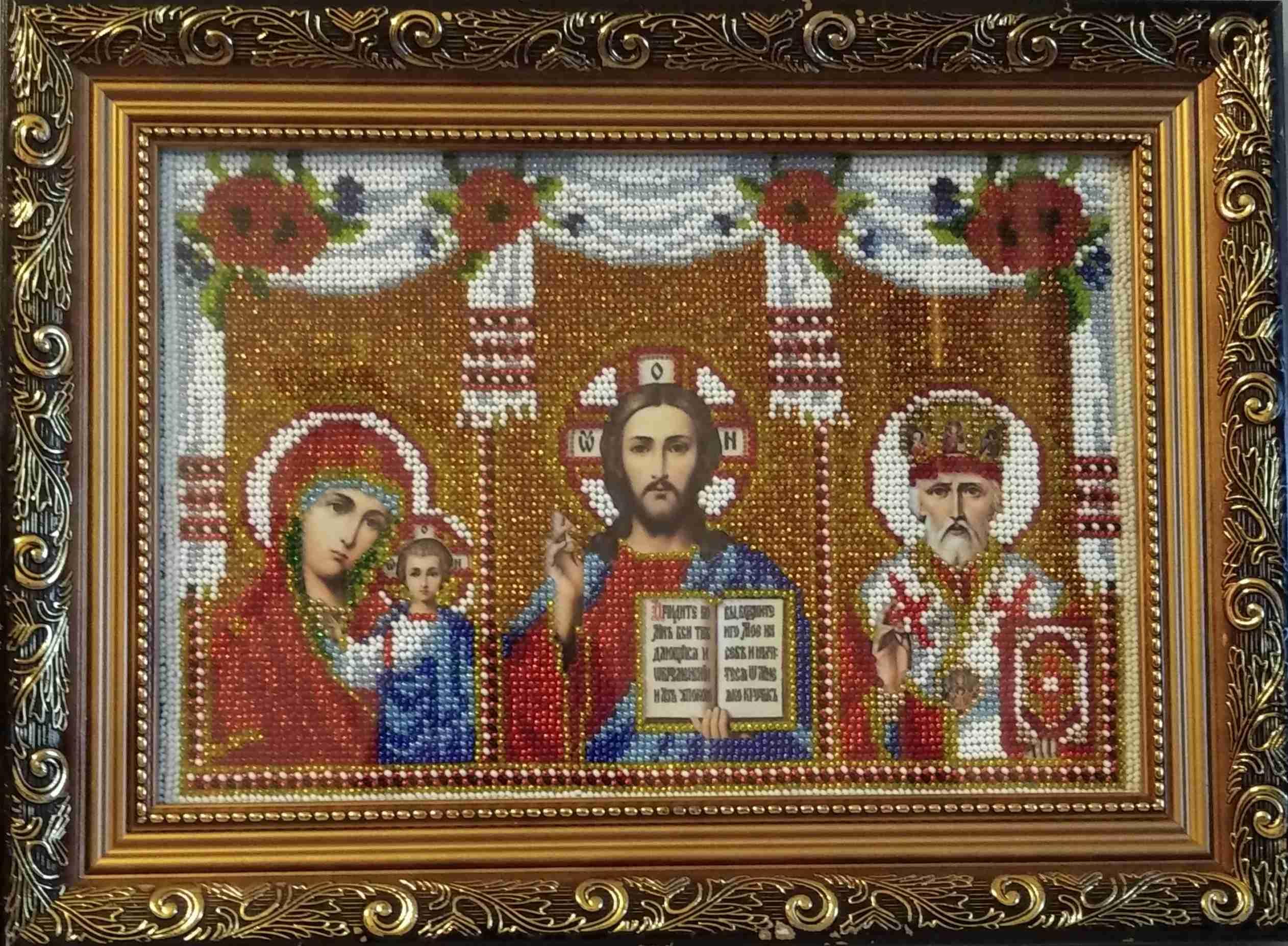 Мария Маргиневич. ВЫставка православных икон
