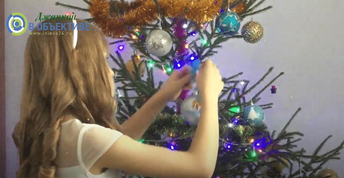 Рождественский флешмоб в Джанкое