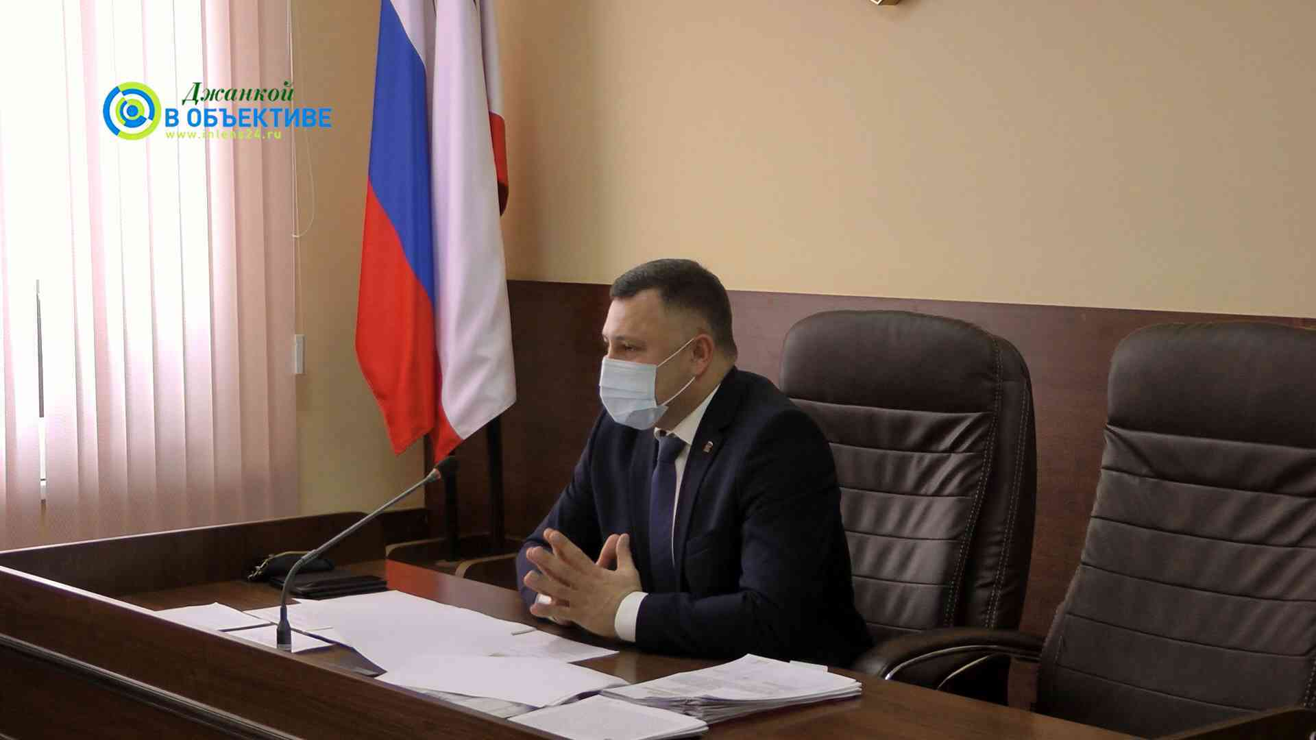 Депутаты Джанкоя одобрили отчет главы администрации