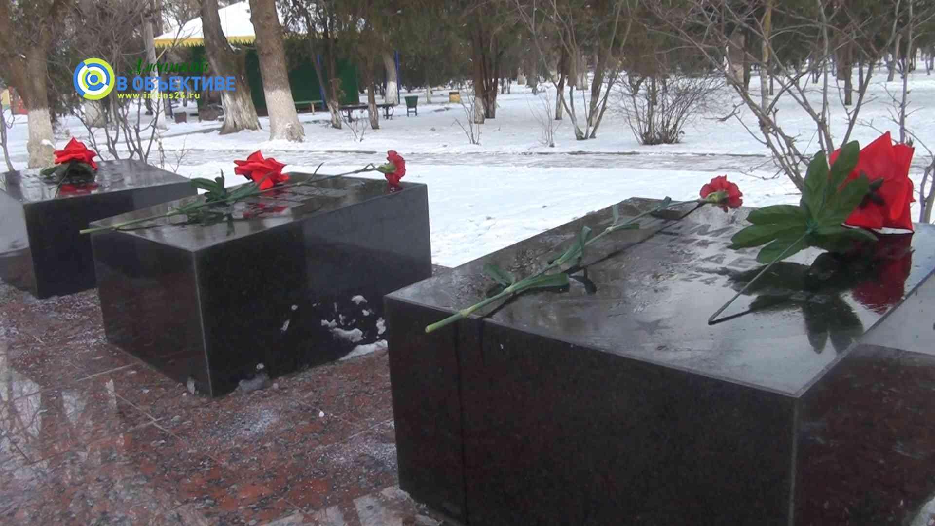 в память о джанкойских ребятах, погибших за пределами Отечества