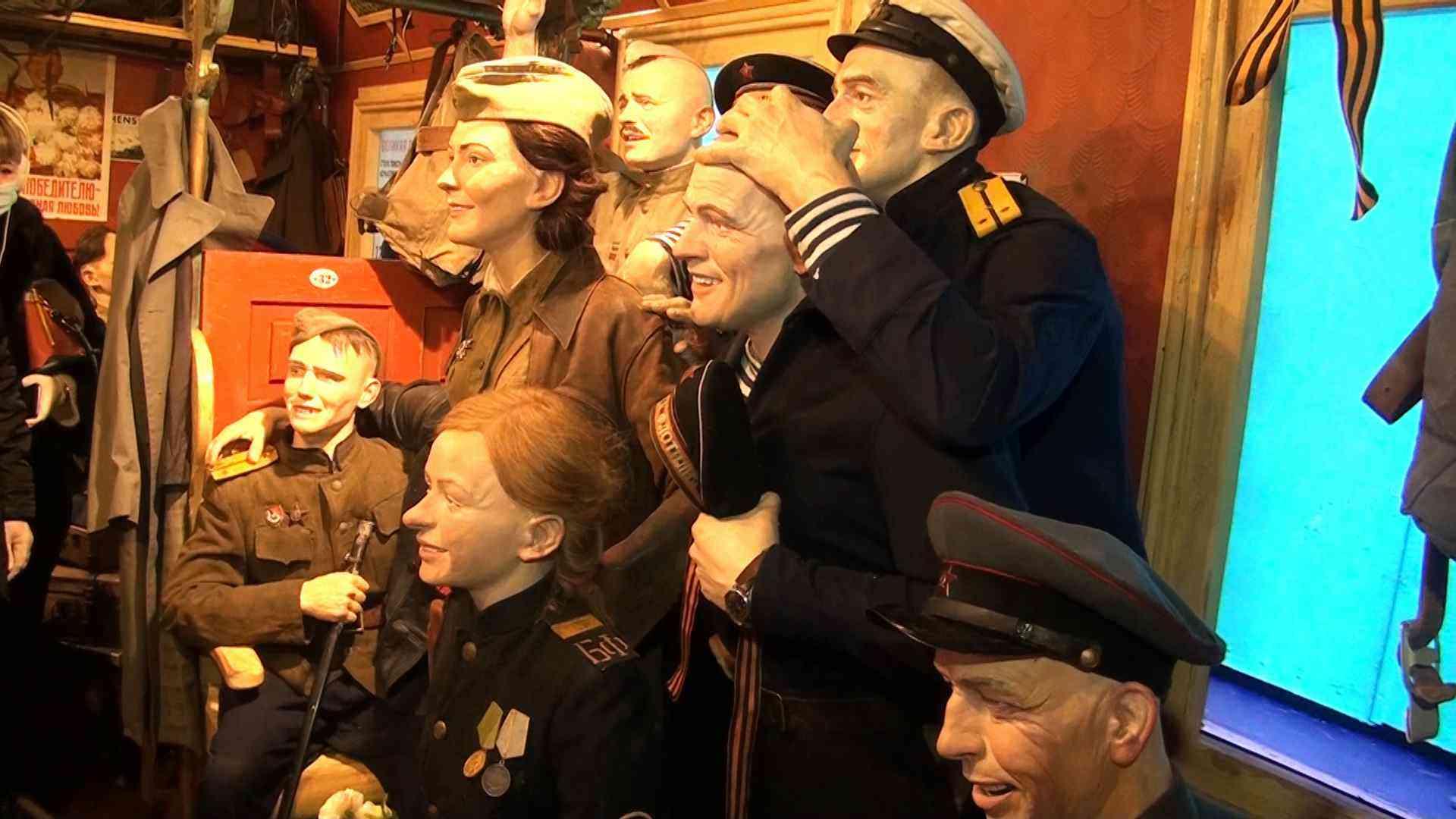 Поезд Победы в Джанкое