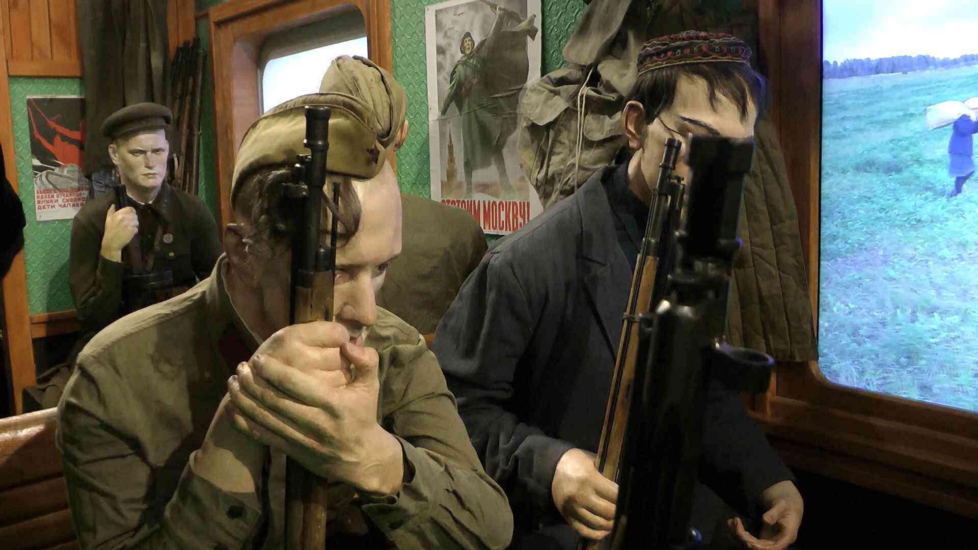 Поезд Победы экскурсии в Джанкое