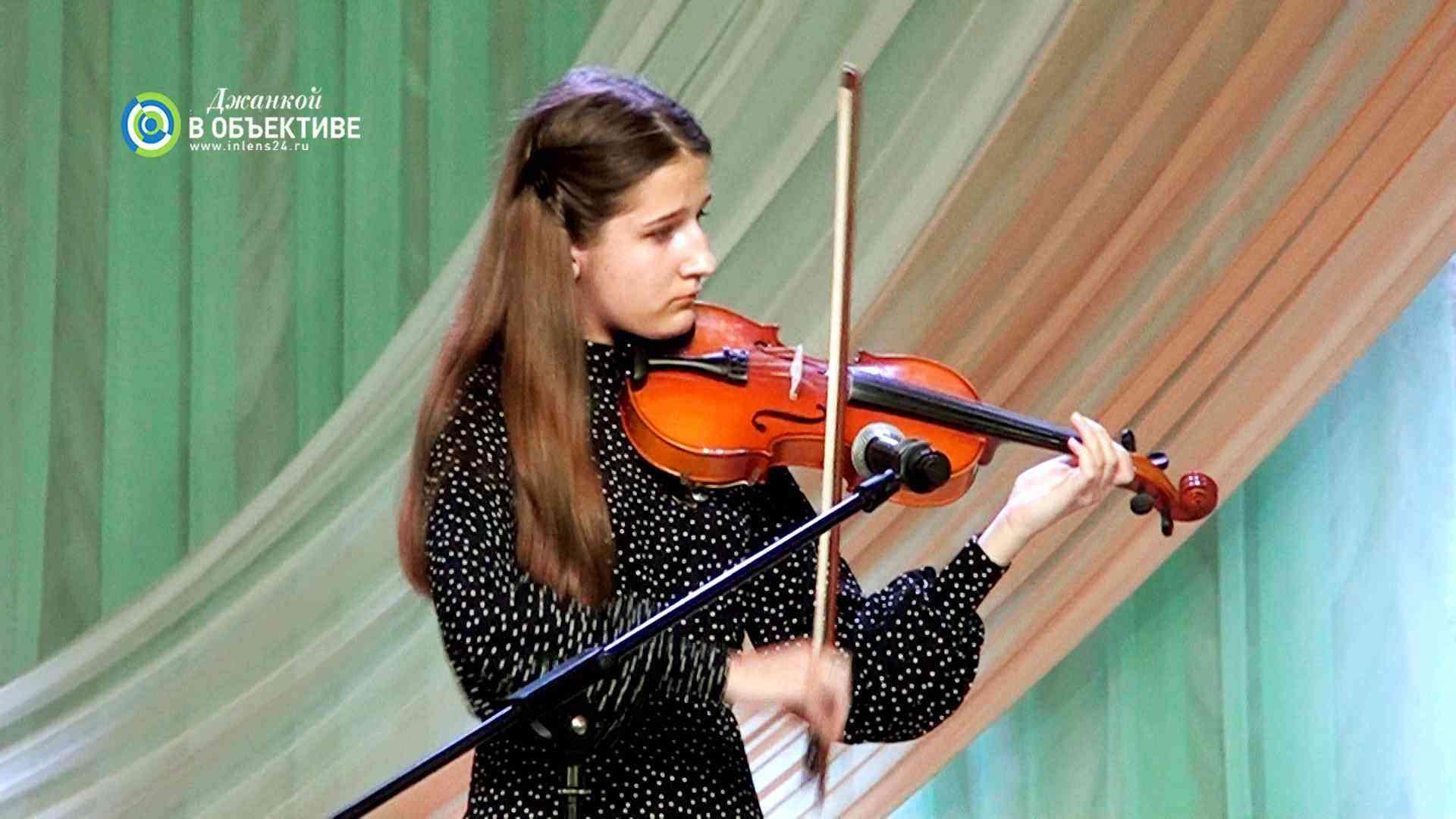 детский концерт в г. Джанкое 8 марта