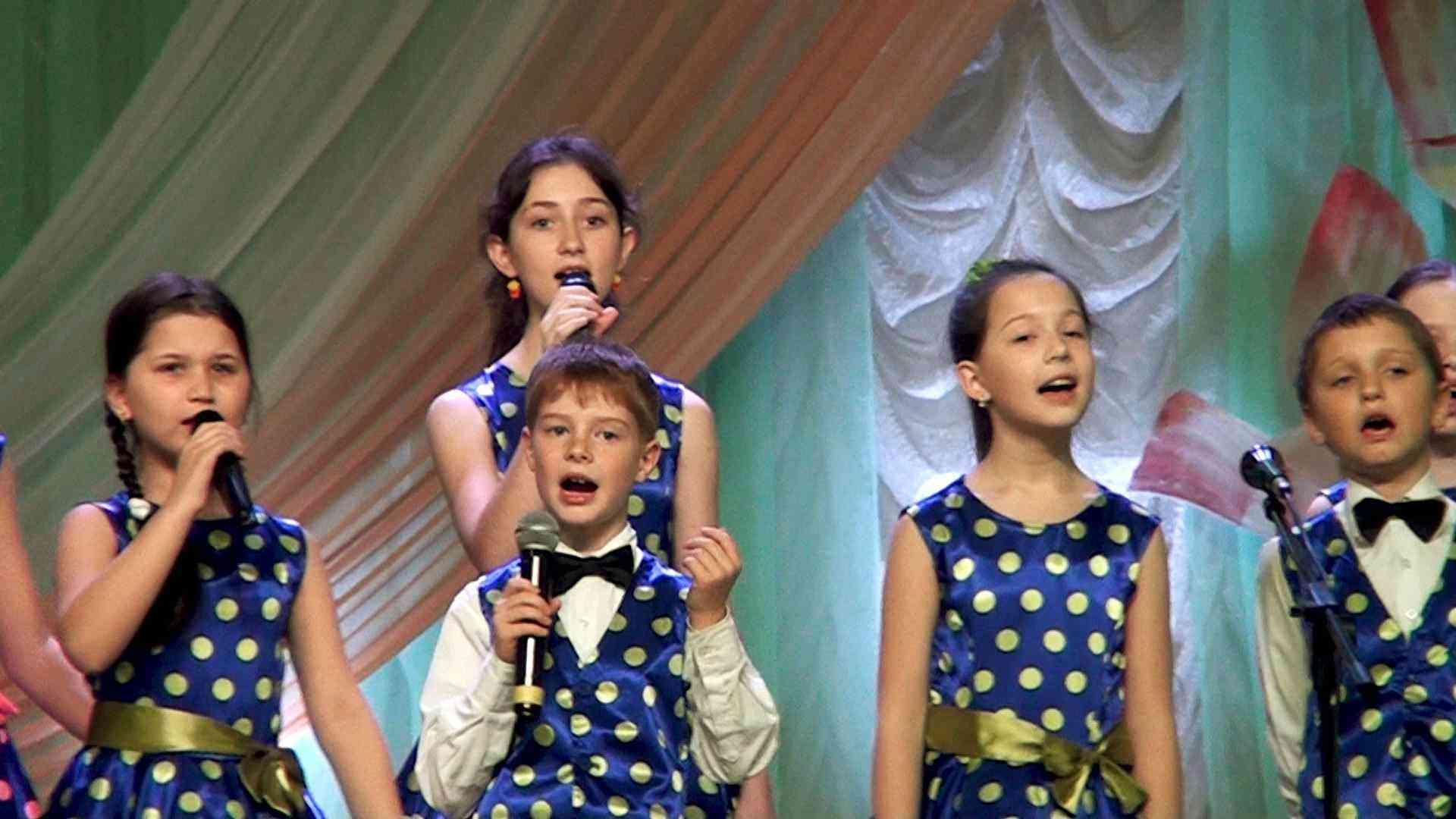 детский концерт г. Джанкой 8 марта 2021 год