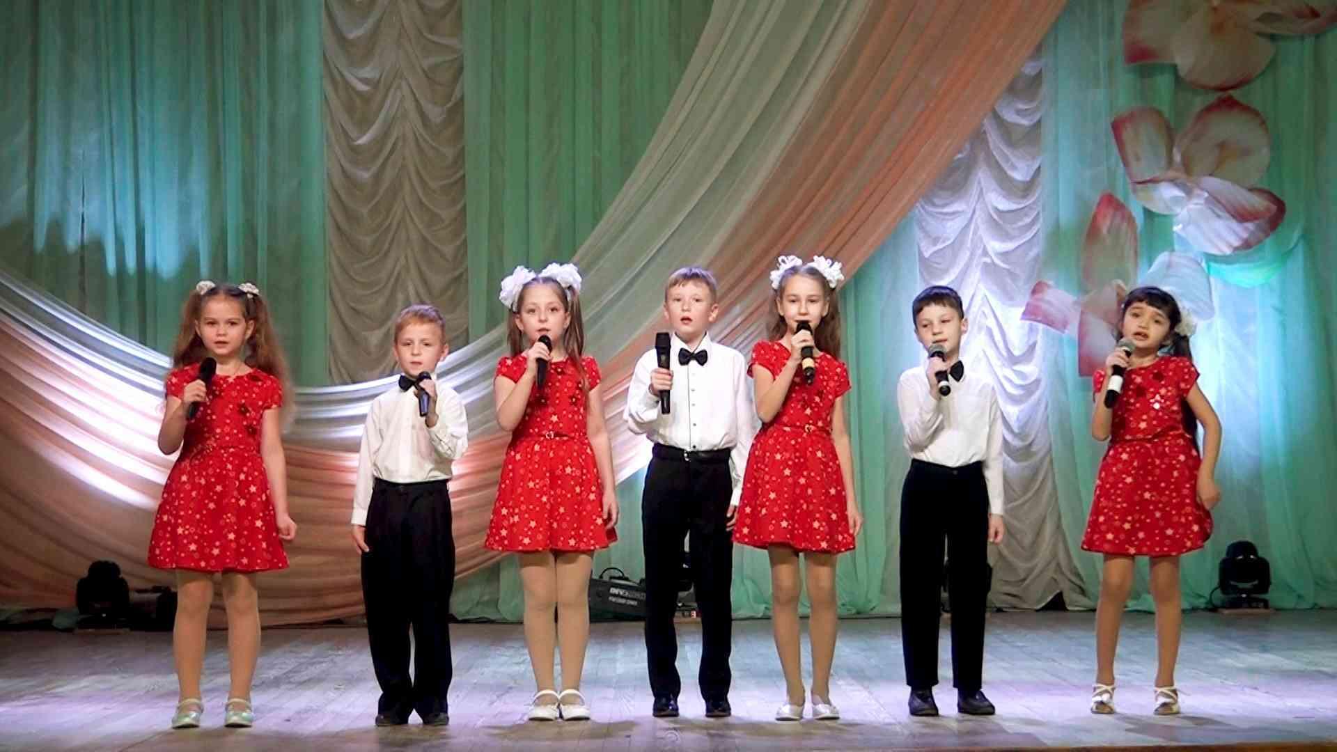 детский концерт г. Джанкой 8 марта