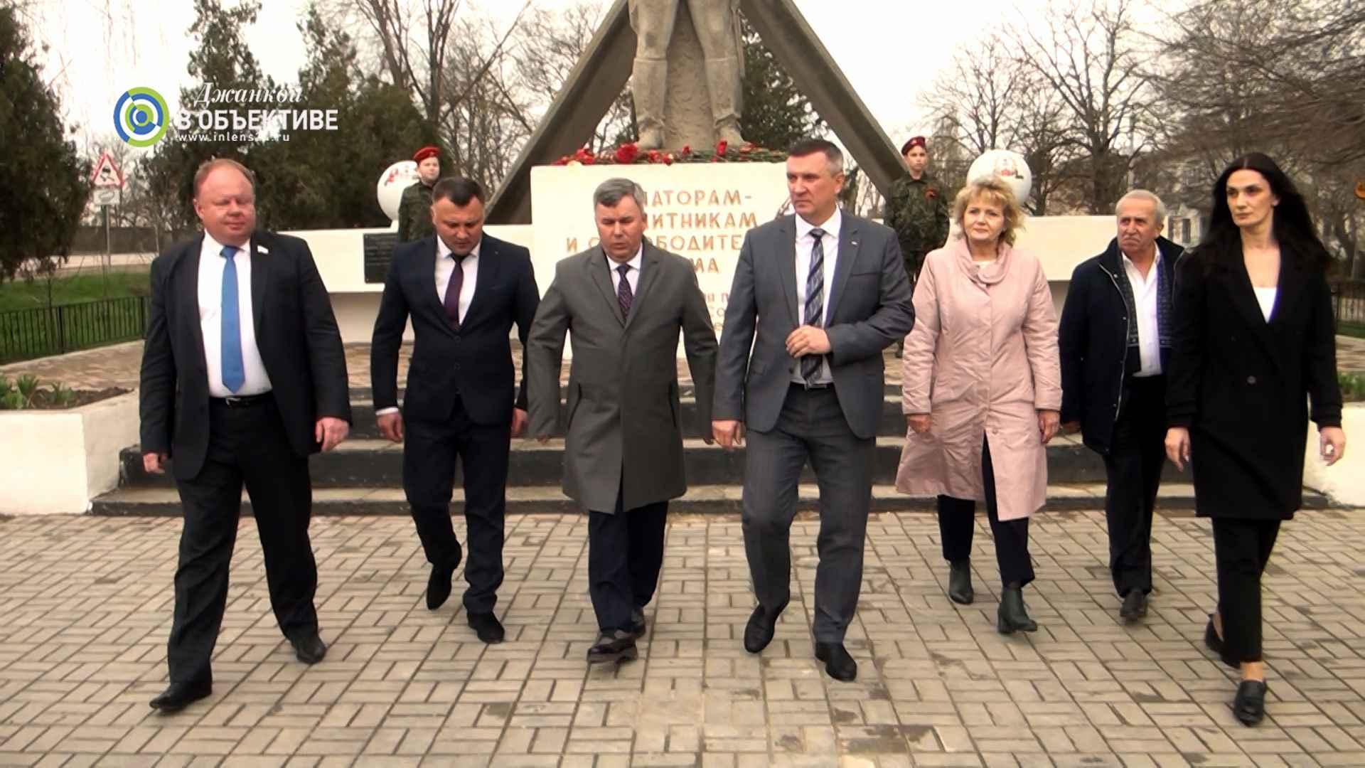 Джанкой и Гурьевск Калининградской области подписали договор о сотрудничестве