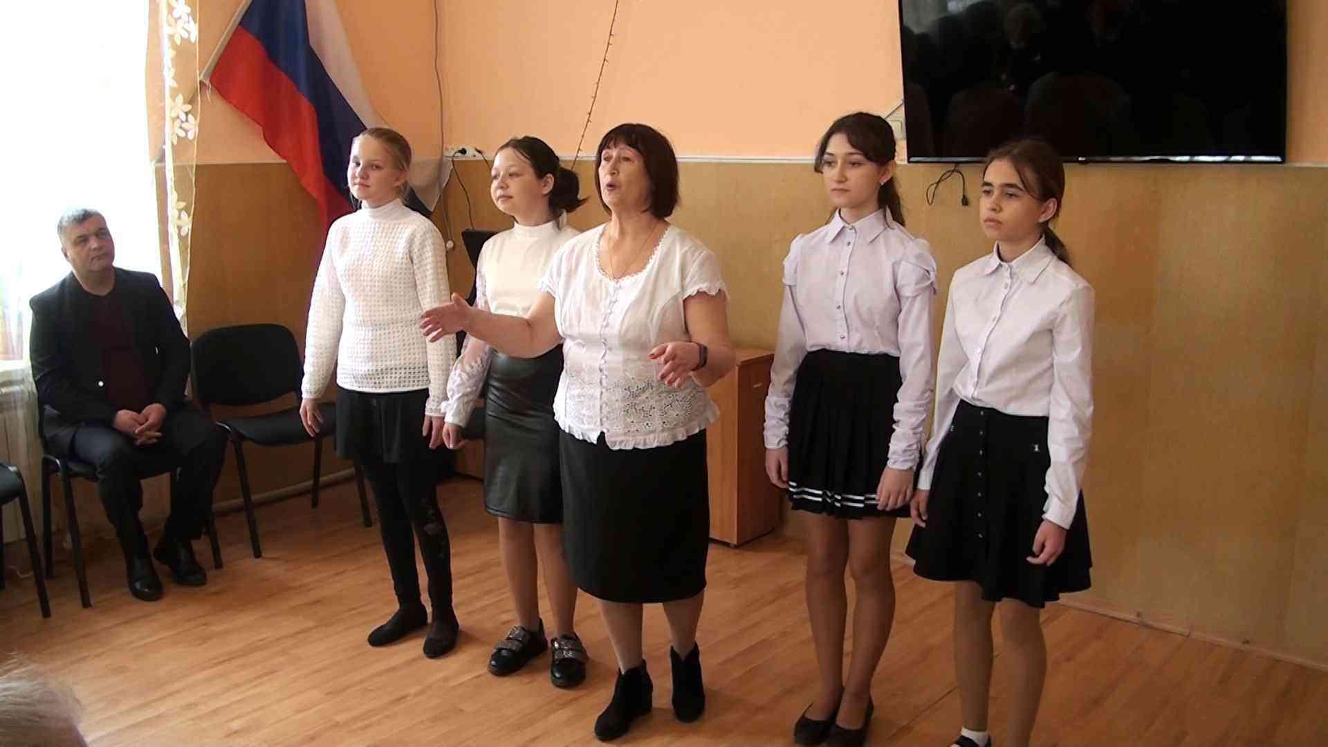 ветераны джанкоя. день освобождения города