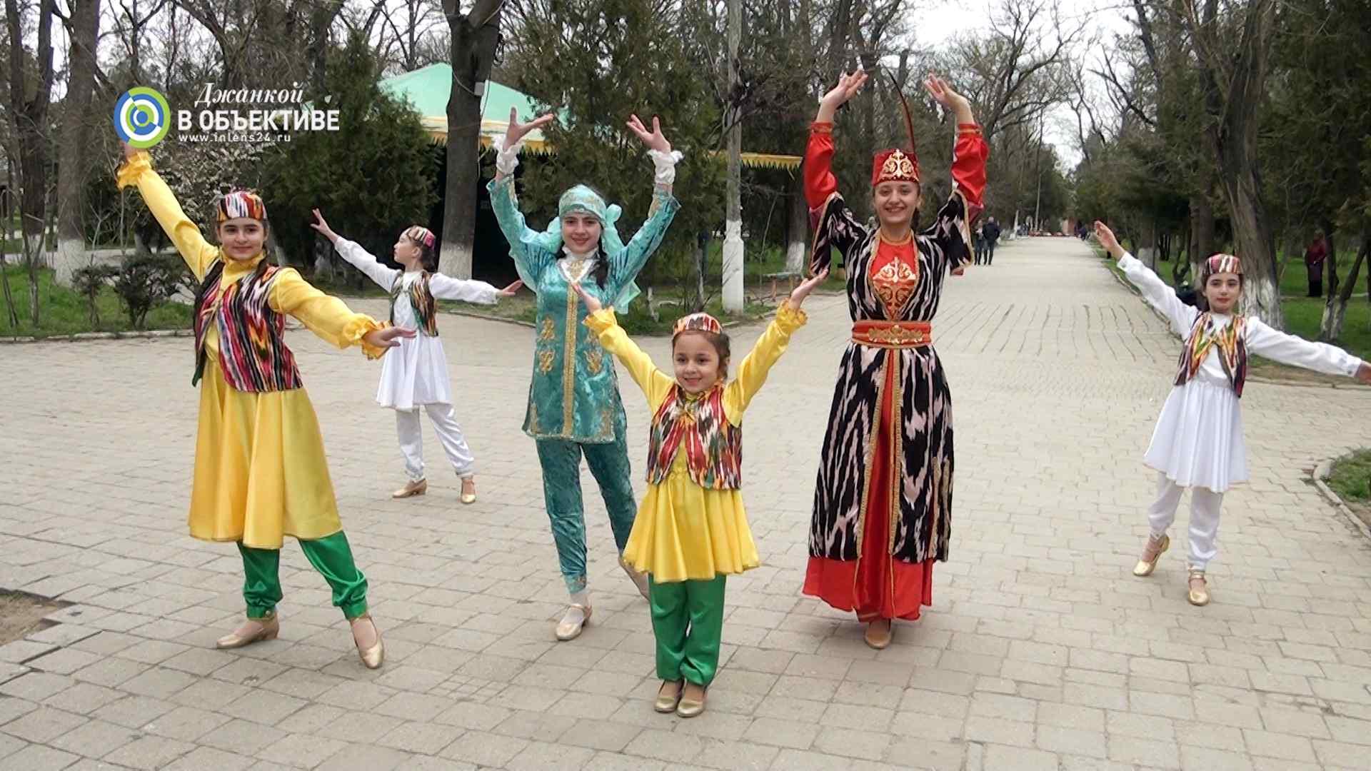 парад народов Крыма. программа в Джанкое