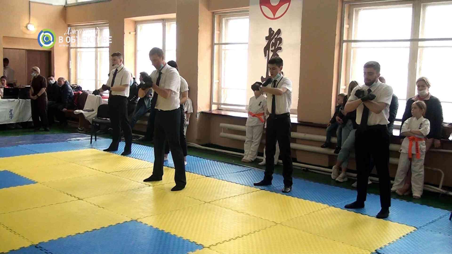 первенство Джанкоя по каратэ 2021