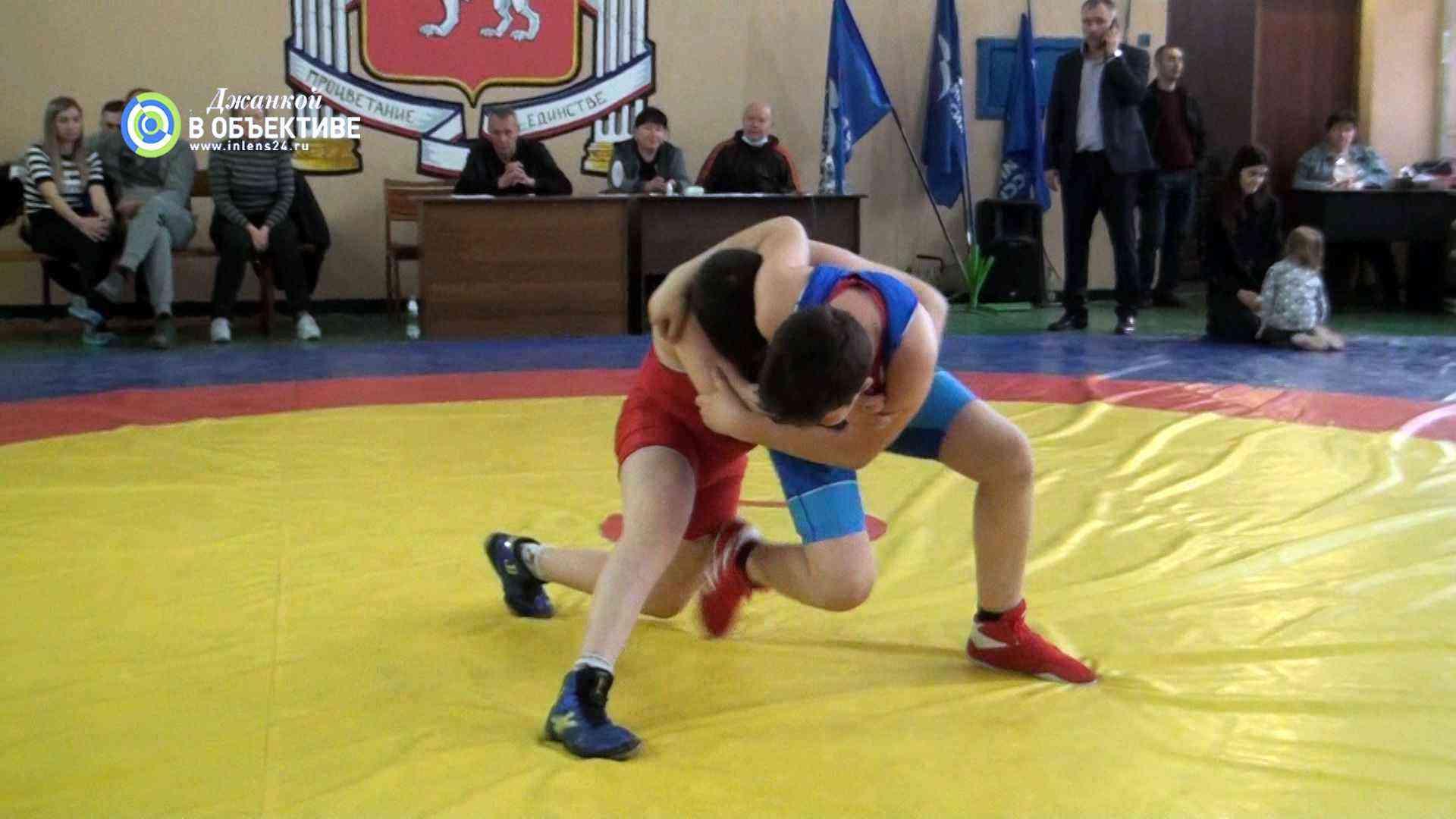 турнир по греко-римской борьбе. Джанкой 2021