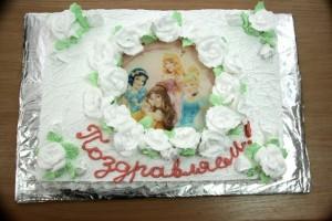 торт для студии Улей