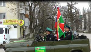 Estafeta v Dzhankoe 300x172 - В Джанкое торжественно приняли эстафету Победы