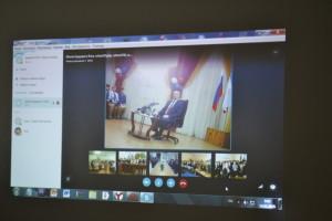 Na svyazi s Dzhankoem 300x200 - Джанкойские школьники приняли участие в конференции с Аксеновым
