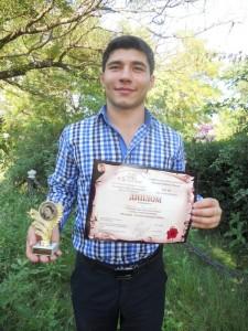 Андрей Галинский награжден дипломом зрительских симпатий