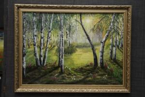 Radost letsya s holsta 300x200 - Джанкойской художнице В.Салахиевой нужна наша зрительская поддержка